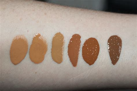 Nyx Total Drop nyx total drop foundation review swatches all