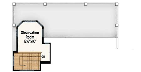 house plans with observation room stylish beach house plan 86008bw architectural designs house plans
