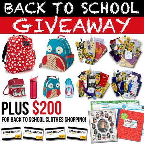 Back To School Giveaway - huge back to school giveaway the 36th avenue