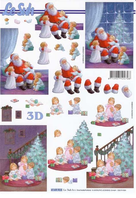 3d Decoupage - children designs 3d decoupage sheet
