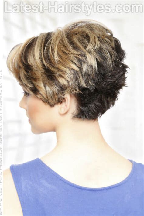 short hairstyles bumped up in the back short hairstyles feminine and hairstyles on pinterest