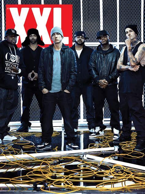 eminem group the beat slaughterhouse announces new e p xxl cover