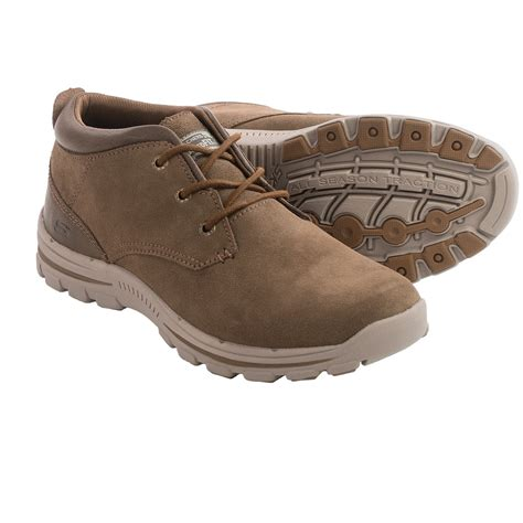 sketchers boots skechers relaxed fit braver archon chukka boots for