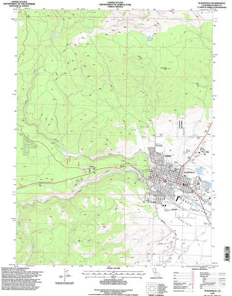 usgs topo maps california susanville topographic map ca usgs topo 40120d6