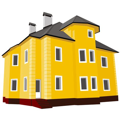 image of a home vector for free use cottage vector