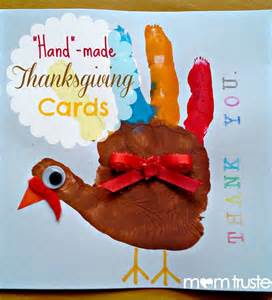 made thanksgiving cards early