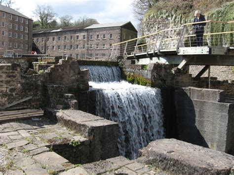Mills To With The by Key Derwent Valley Mills