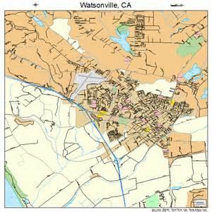 watsonville california map 0683668