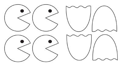 pacman template pac ghost template pictures to pin on