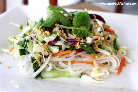 rice noodle salad pinterest