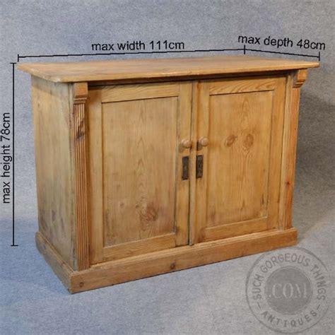 Pine Cupboard Antique Original Pine Cabinet Door Cupboard