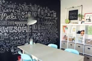 Chalkboard Bedroom 10 Pinturas De Paredes Criativas Para Renovar A Decora 231 227 O