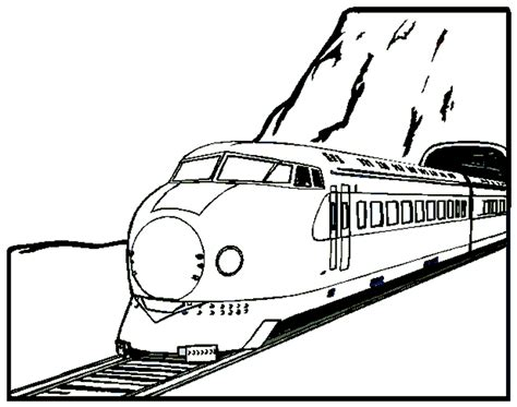 train coloring pages coloringpages1001