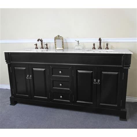 72 Inch Sink Vanity by 72 Inch Sink Bathroom Vanity With White Marble