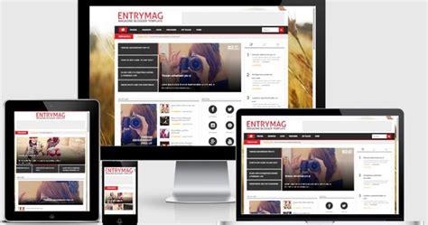 design form template accurate versi 4 entrymag versi 2 0 majalah responsive blogger template