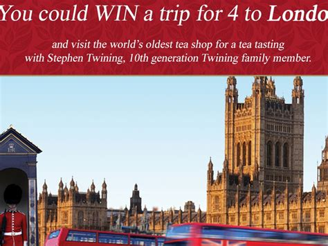 Twinings London Sweepstakes - the twinings of london sweepstakes