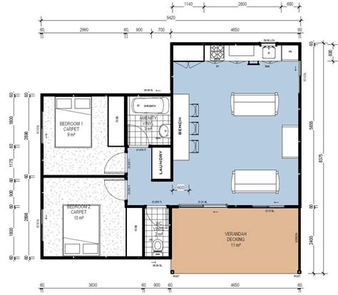 modular cabin floor plans ibuild lekofly modular homes l60 2 bedroom cabins