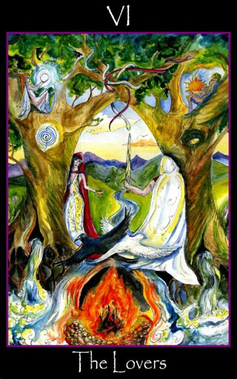 tarot of the sidhe the lovers tarot of the sidhe by emily carding angelorum tarot and healing