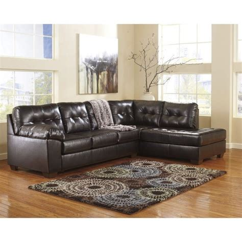 leather sectional sofa ashley ashley furniture alliston 2 piece leather sectional sofa