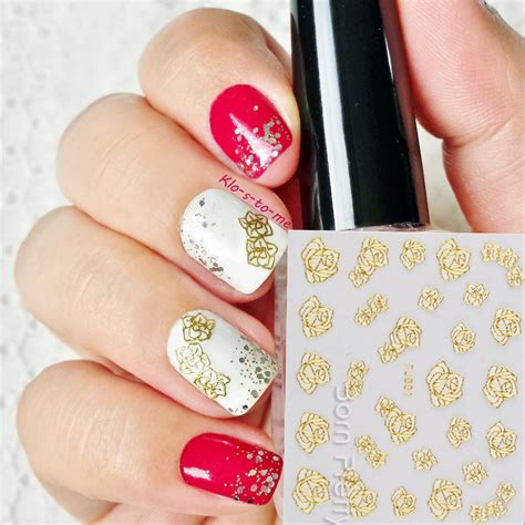 Nail Decals by Image Gallery Nail Stickers