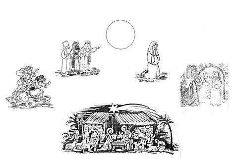 nel giardino degli angeli schede disegni per bimbi simboli quattro evangelisti da colorare