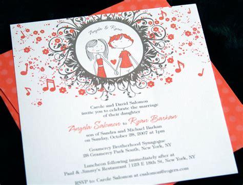 desain undangan pernikahan modern terbaru 32 contoh desain undangan pernikahan unik modern elegan