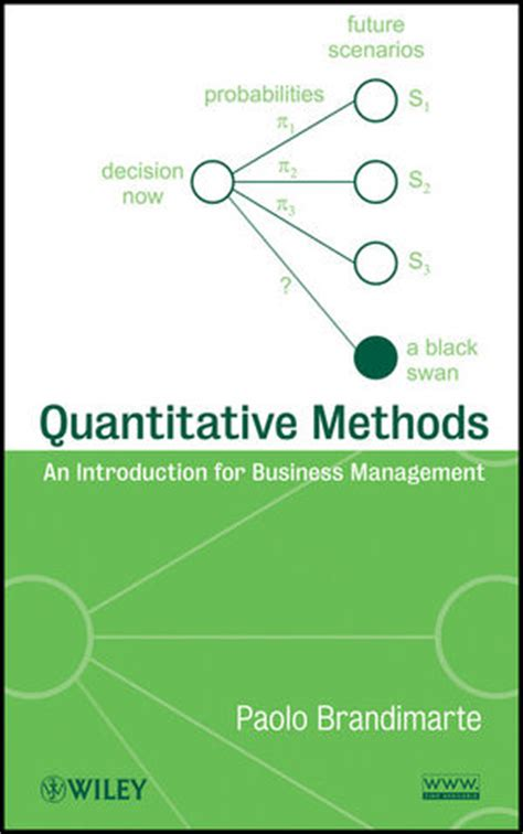 Research Methods For Management Mba Pdf by Wiley Quantitative Methods An Introduction For Business