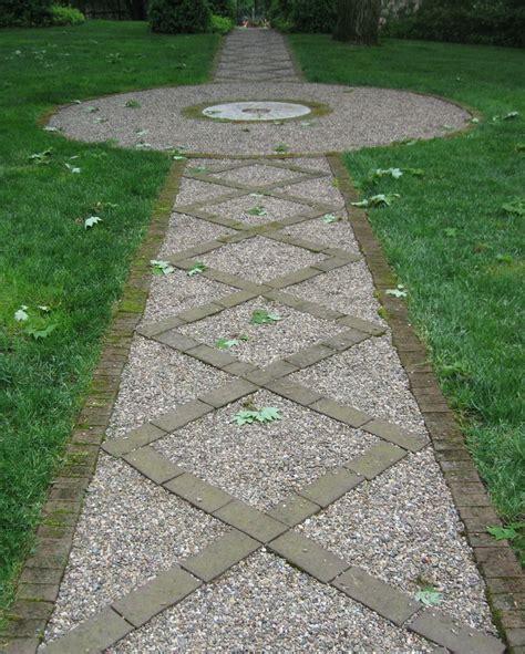 pea gravel garden paths garden paths