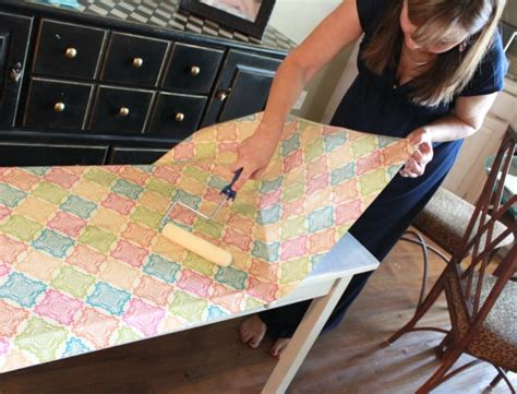 How To Decoupage Furniture With Mod Podge - decoupage furniture 8