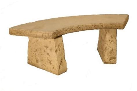 concrete curved bench natural finish concrete curved bench l131cm 163 169 99