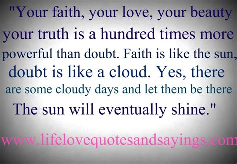Faith Is Powerful powerful quotes quotesgram