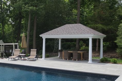pavilion designs and plans outdoor pool pavilions custom vinyl timber frame pa