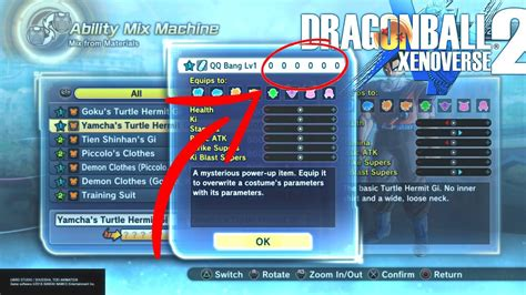Qq For 2 xenoverse 2 how to make a zero stat qq