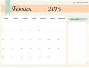Calendrier J 2015 Calendrier F 233 Vrier 2015 224 Imprimer Marocute