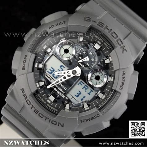 Casio G Shock Grey buy casio g shock camouflage gray analog digital display