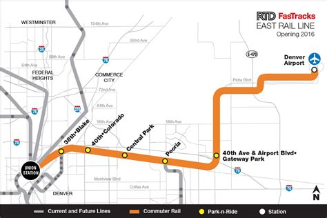 Denver Light Rail Schedule by Take A Construction Tour Of Rtd S Rail Line To Dia Kunc