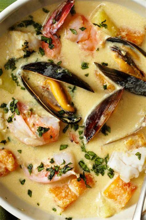 Ina Garten Stew Recipes by Peruvian Seafood Chowder Recipe Food Network Kitchen