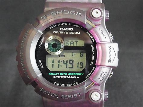 G Shock Frogman I C E R C Gf 8250k casio g shock gw 202 frogman i c e r c model custom purple