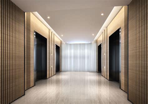 minimalistic hotel elevator hall design 3d rendering image gallery elevator lobby