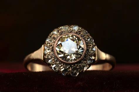 antique engagement rings for vintage brides 1890s