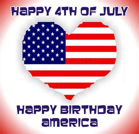 Happy Birthday America Quotes Happy 4th Of July Wishes Greetings