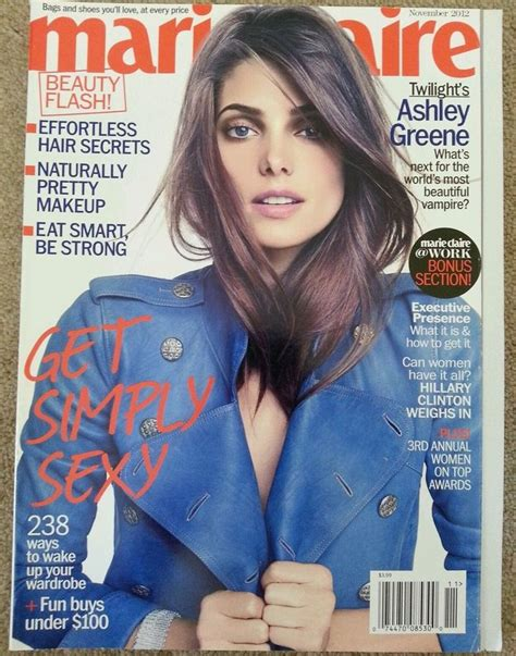 ashley greene magazine cover 1000 images about favorite marie claire magazine covers