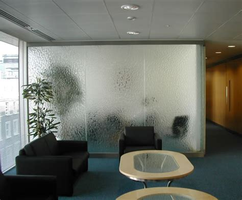 glass partition design bespoke kiln formed textured glass partitions hot glass