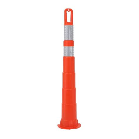 three d traffic works 42 in orange safety cone without