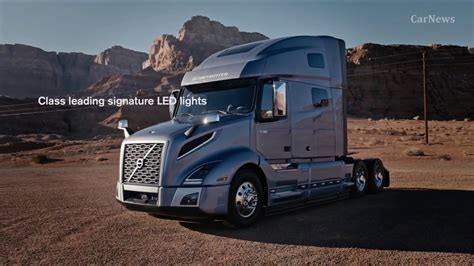 volvo trucks unveils highly anticipated new vnl volvo vnl truck 2018 interior exterior drive carnews