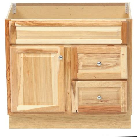 glacier bay hton bath vanity cabinet only in natural hickory direct divide