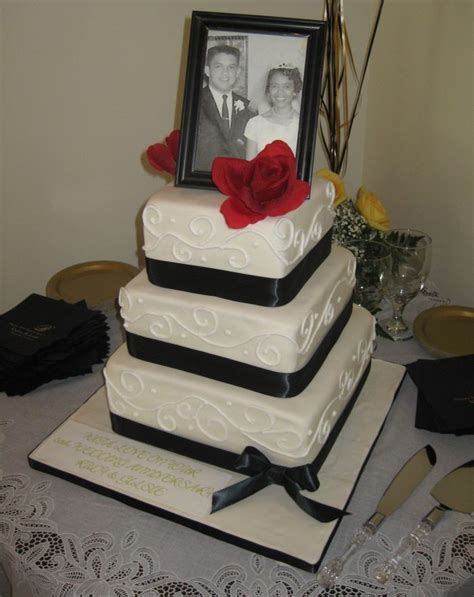 Wedding Anniversary Cake Ideas by 50th Anniversary Cakes Pictures Ideas