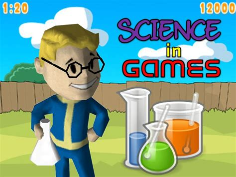 the science of game the science in video games the science cookie jar