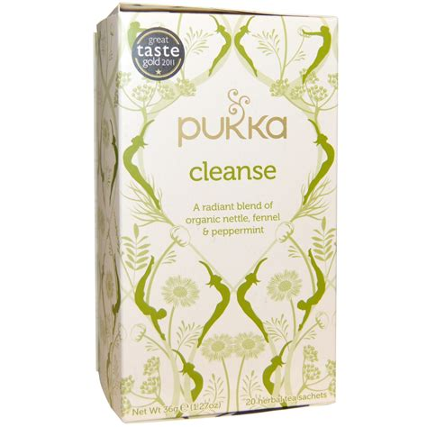 Pukka Tea Detox And Cleanse by Pukka Herbs Cleanse Organic Nettle Fennel Peppermint