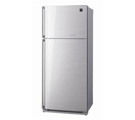 Freezer Sharp 120 Liter buy sharp sjgc700vsl fridge freezer silver free